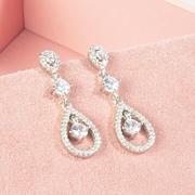 1b0cd85a9761 Pendientes de Novia en oro con diamantes