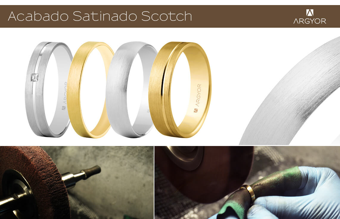 Acabado satinado scotch
