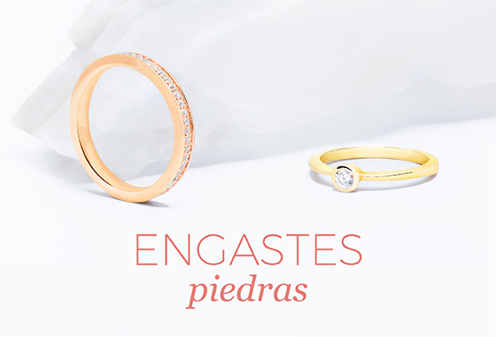 Tipos de engastes diamantes